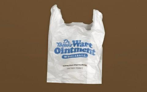 Customers will be charged five cents per 'embarrassing' plastic bag they take