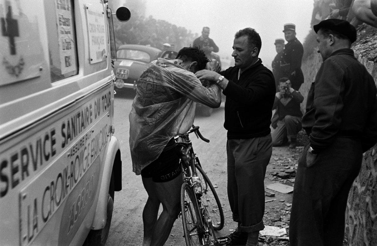 Not originally published in LIFE. 1953 Tour de France. Frank Scherschel—Time & Life Pictures/Getty Images