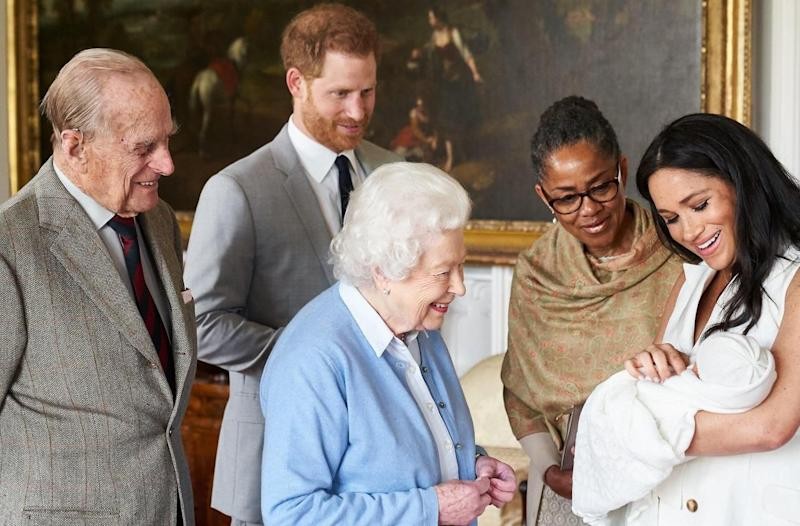 Royal baby: l'attendrissante