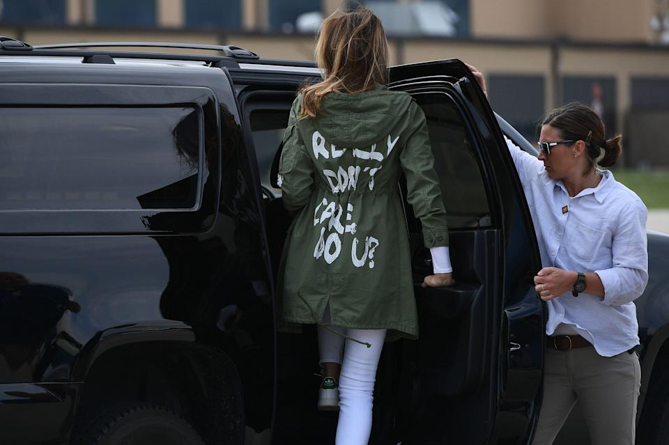 The offending Zara coatAFP/Getty