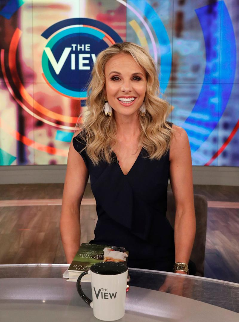 "Elisabeth Hasselbeck is explaining why she nearly quit ""The View"" in 2006. (Photo: Lou Rocco/ABC via Getty Images)"
