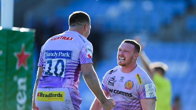 Joe Simmonds insists there will be no let-up from Exeter as they chase double