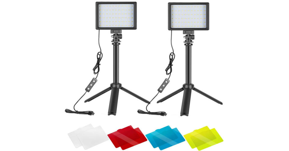 Neewer Dimmable 5600K USB LED Video Light (Photo: Amazon)