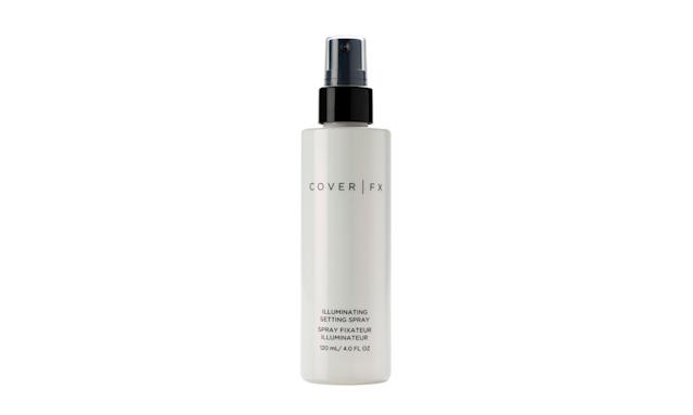 "<a href=""https://www.yahoo.com/lifestyle/tagged/cover-fx"" data-ylk=""slk:Cover FX"" class=""link rapid-noclick-resp"">Cover FX</a> Illuminating Setting Spray (Photo: Cover FX)"