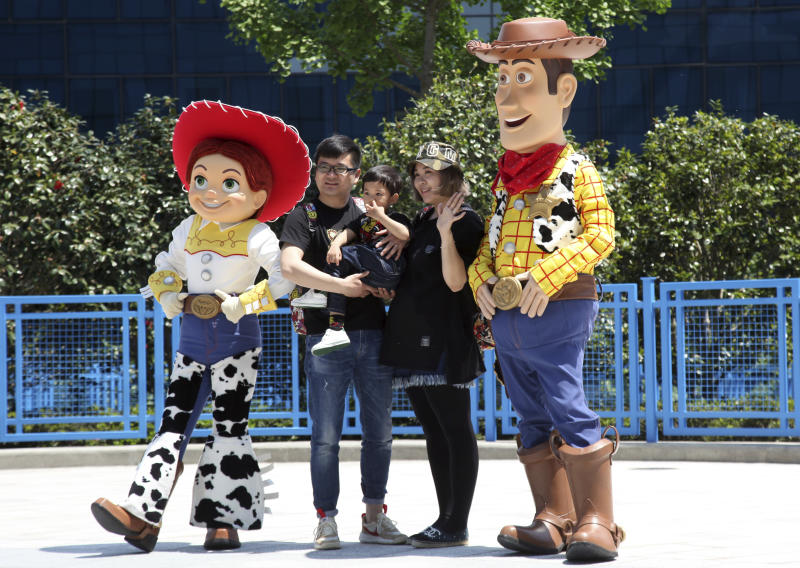 Disney emphasizes China roots in Shanghai amid trade tension