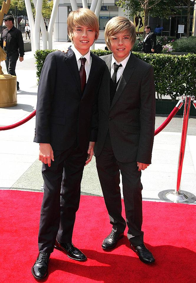"""Dylan and Cole Sprouse have definitely come a long way since starring in the 1999 Adam Sandler comedy """"Big Daddy."""" The 16-year-old twins star in their own Disney sitcom, """"The Suite Life on Deck."""" Jason LaVeris<a href=""""http://www.filmmagic.com/"""" target=""""new"""">FilmMagic.com</a> - September 13, 2008"""