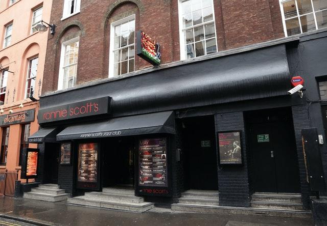 Ronnie Scott's Jazz Club in Soho