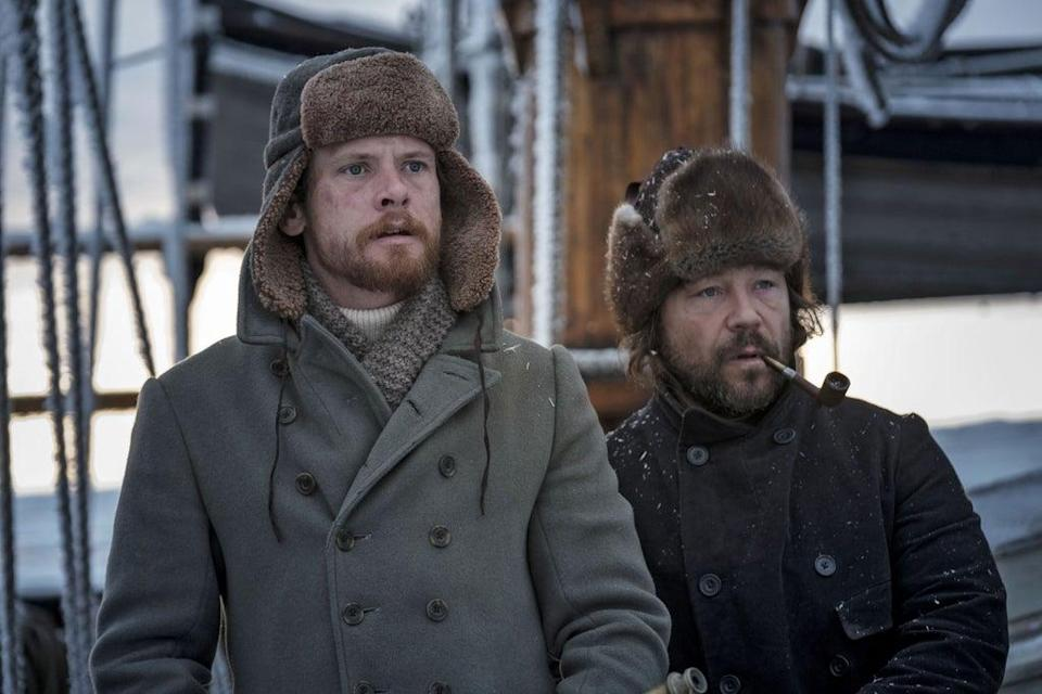 Jack O'Connell and Stephen Graham in 'The North Water' (BBC/See-Saw Films)
