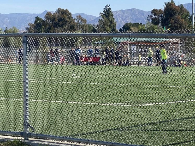 Youth soccer competition returned to Valley Plaza's soccer fields in North Hollywood this weekend.