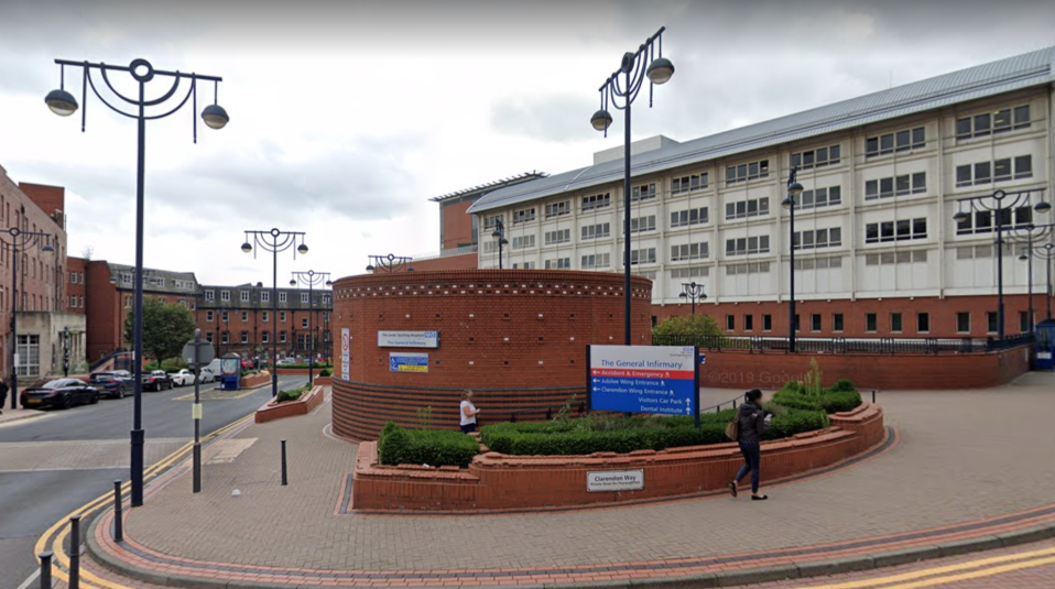 A fire broke out at Leeds General Infirmary. (Google Maps)