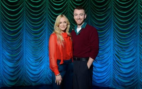 Fearne Cotton and Sam Smith
