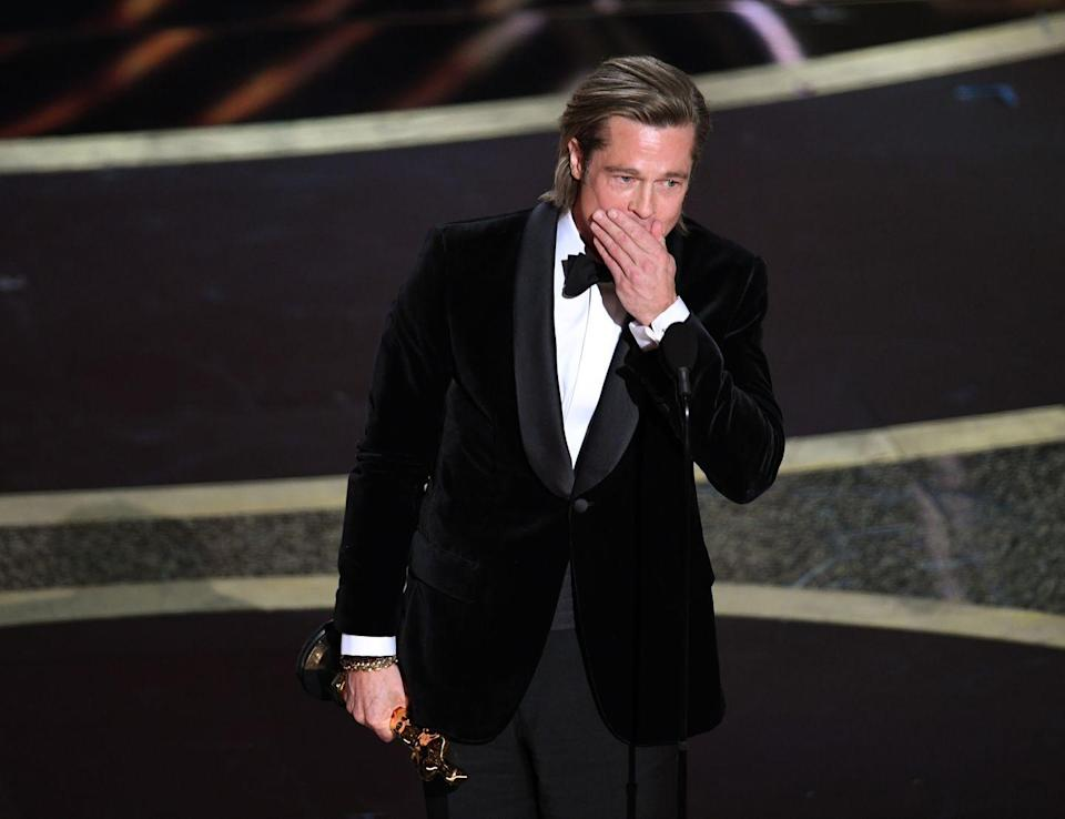 <p>After being nominated for several Academy Awards over the years, Pitt finally won in 2020. He was presented the Best Supporting Actor award for his work in <em>Once Upon a Time in Hollywood</em>. </p>