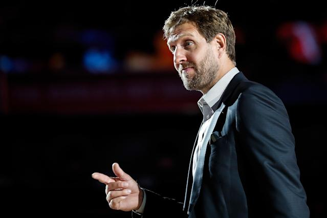 Dirk Nowitzki (Photo by Xinyu Cui/Getty Images)