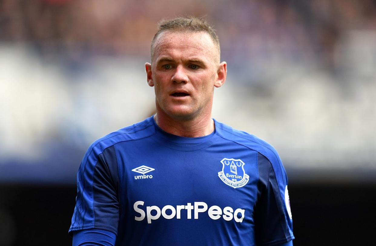 Wayne Rooney in action for Everton (Anthony Devlin/PA)