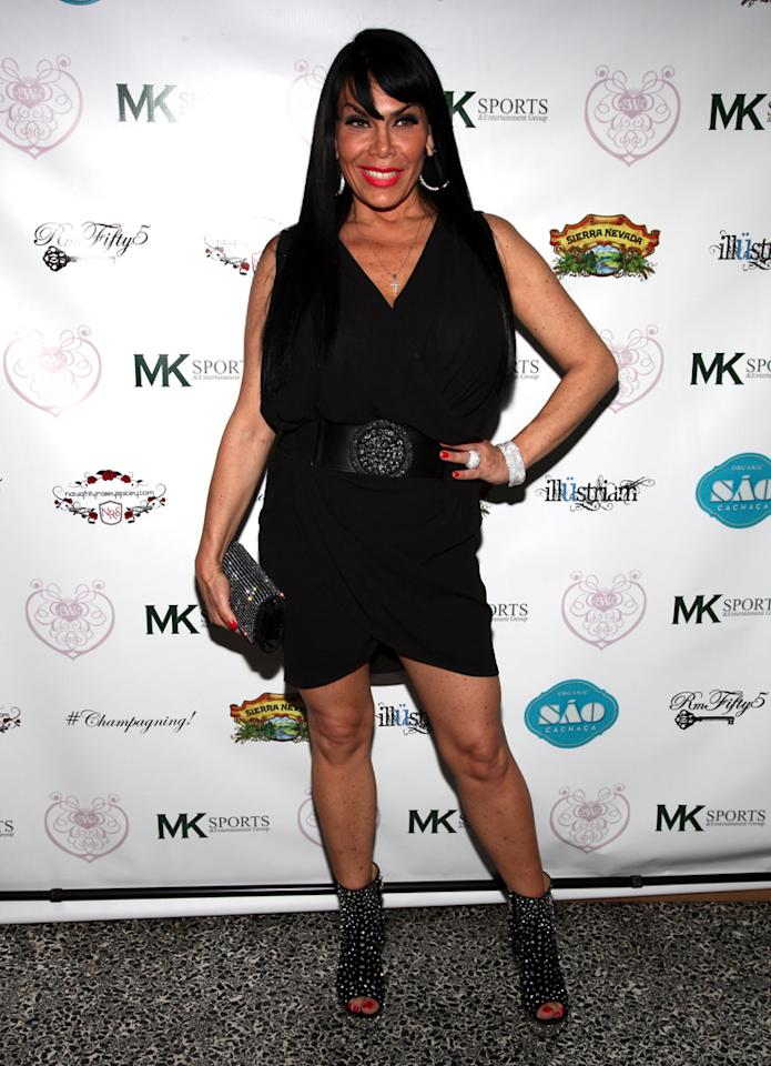 "Renee Graziano attends the ""Eden's World"" premiere party at Room Fifty5 at Dream Midtown on April 16, 2012 in New York City."