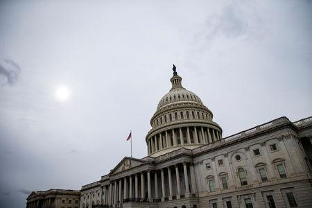 FILE PHOTO: The U.S. Capitol is pictured in Washington