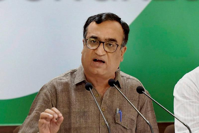 Instead of Fighting Covid-19 and China, Centre Conspiring to Topple Cong Govts: Ajay Maken