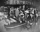 """<p>Diners once had an especially large impact on New York dining culture, as you can tell from this busy spot in New York City back in the '40s. According to the New York Times, <a href=""""https://www.nytimes.com/2019/05/24/realestate/new-yorks-vanishing-diners.html"""" rel=""""nofollow noopener"""" target=""""_blank"""" data-ylk=""""slk:diners surged"""" class=""""link rapid-noclick-resp"""">diners surged</a> in New York after World War II due to the influx of immigrants. </p>"""