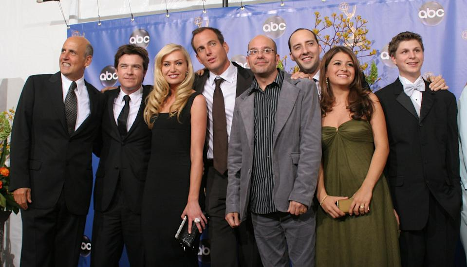 The cast of Arrested Development circa 2004. (PA)