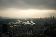 FILE PHOTO: In Hong Kong's tranquil borderlands, two systems co-exist