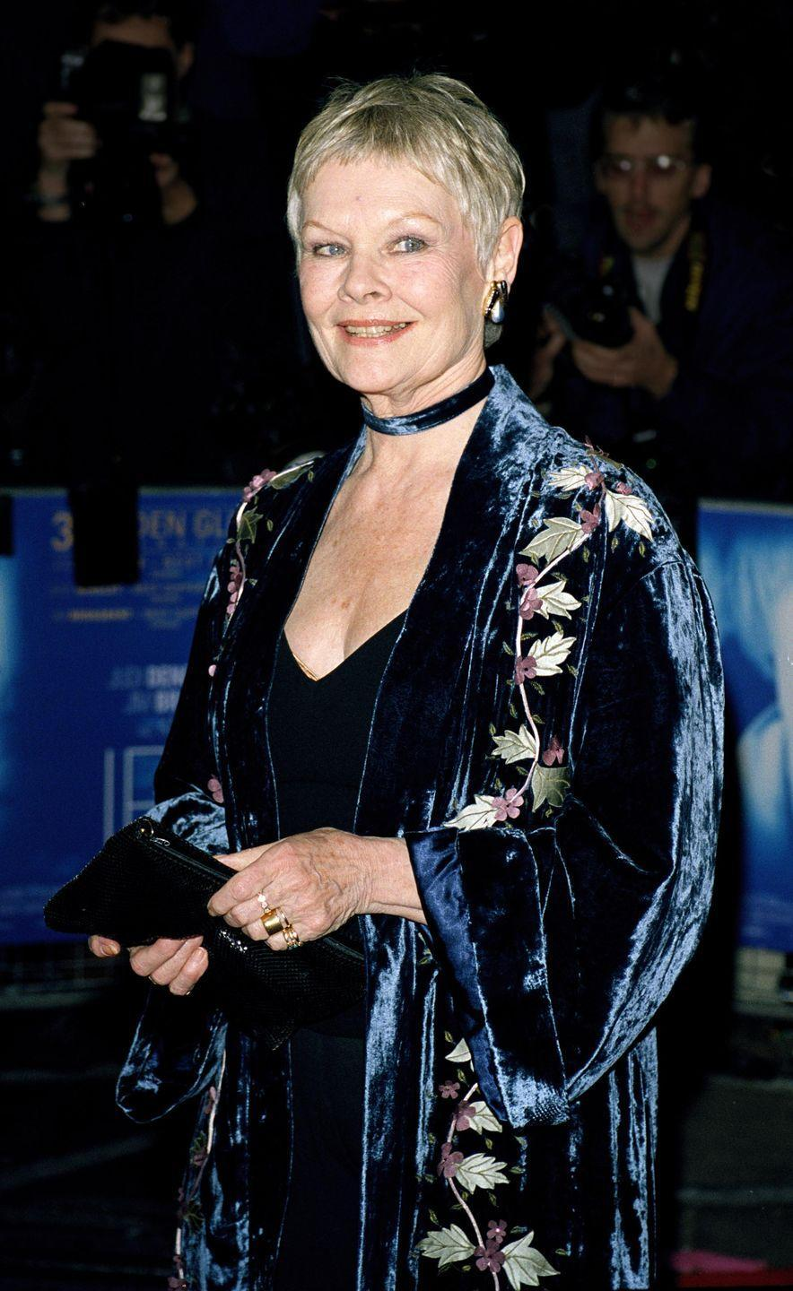 <p>The 2001 drama <em>Iris</em> told the story of novelist Iris Murdoch. Dench played the title role, which won her a BAFTA Award.<br></p>