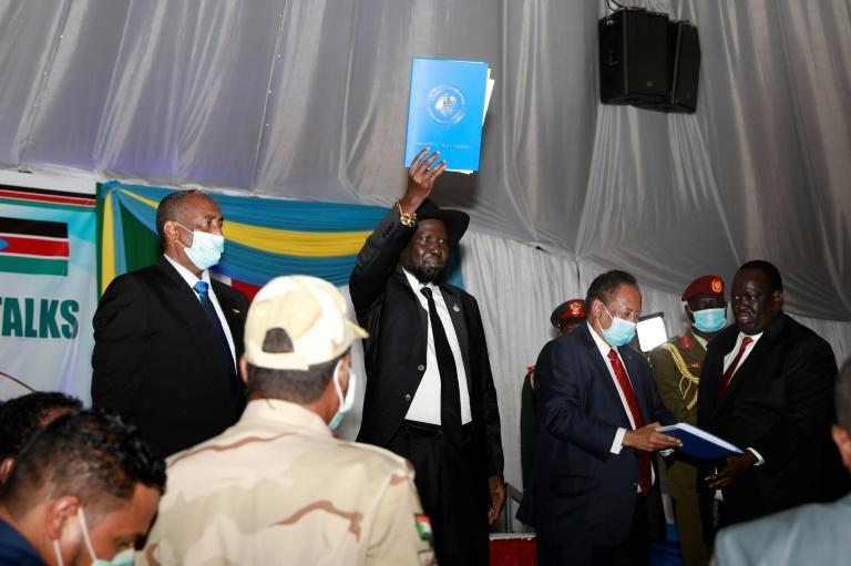 An agreement was celebrated in August in neighbouring South Sudan, which has hosted and mediated long-running talks between Khartoum and rebel commanders