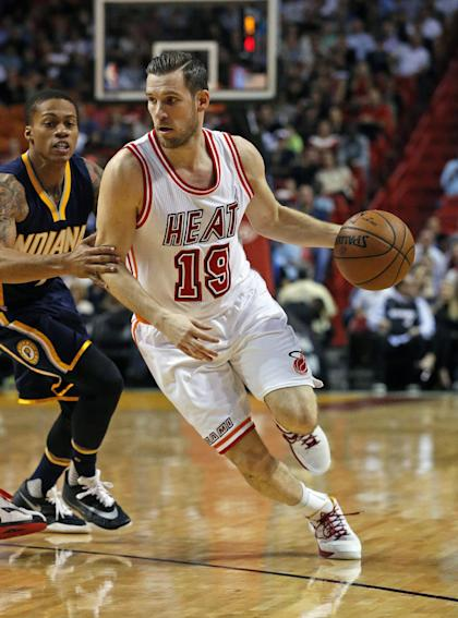 Beno Udrih is out for the season after foot surgery. (AP)