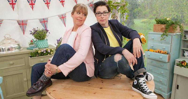 Channel 4 are 'struggling' to replace Mel Giedroyc and Sue Perkins ahead of new Great British Bake Off series (Copyright: BBC)