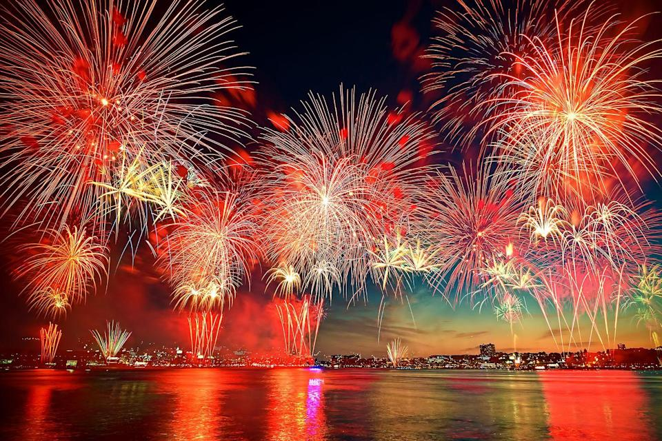 """<p>While we don't yet know how towns will be handling 4th of July fireworks this year, you can always stock up on <span class=""""redactor-unlink"""">sparklers</span> and have your own patriotic light show.</p><p><a class=""""link rapid-noclick-resp"""" href=""""https://www.amazon.com/Windy-City-Novelties-Stick-Necklaces/dp/B00JRFZSYC/ref=sr_1_2?crid=1RLPR2KJYVPZP&dchild=1&keywords=fourth+of+july+glow+sticks&qid=1621521700&sprefix=fourth+of+july+glow%2Caps%2C195&sr=8-2&tag=syn-yahoo-20&ascsubtag=%5Bartid%7C10050.g.4463%5Bsrc%7Cyahoo-us"""" rel=""""nofollow noopener"""" target=""""_blank"""" data-ylk=""""slk:SHOP GLOW STICKS"""">SHOP GLOW STICKS</a></p>"""