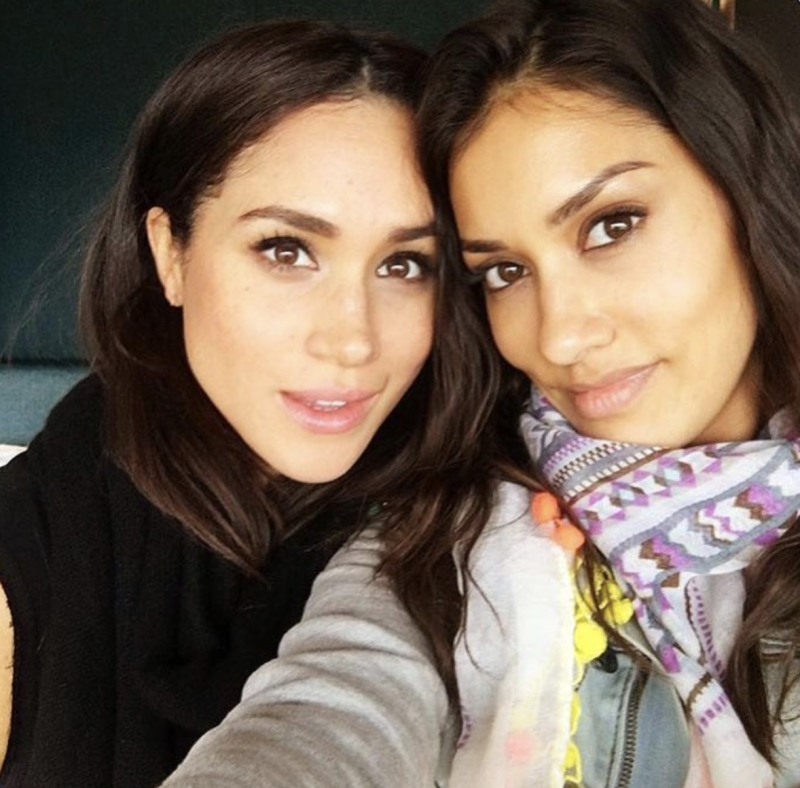 Meghan and Janina (pictured in 2016) have been friends for more than a decade. Photo: Instagram/janina.