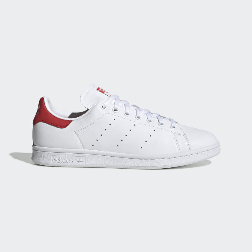 STAN SMITH SHOES Cloud White / Cloud White / Lush Red