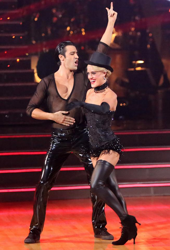 "Gilles Marini and Peta Murgatroyd perform on ""Dancing With the Stars: All-Stars."""