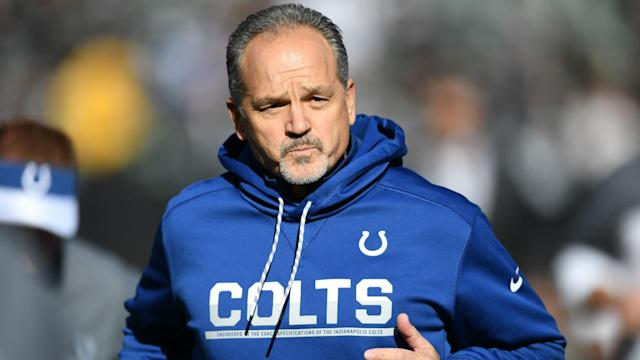 Chuck Pagano joined the Chicago Bears as the NFL team's new defensive coordinator.