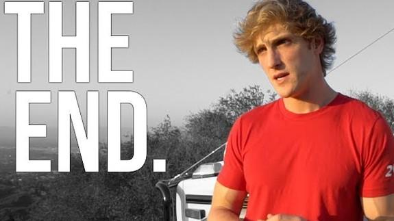 Logan Paul drops daily YouTube vlogs, but sticks around