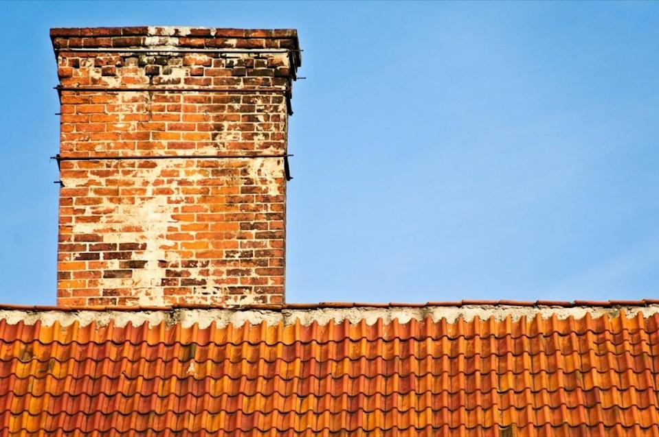 That white build-up on the outside of your chimney—also known as efflorescence—may be a sign of normal wear and tear, but if those white spots keep growing, something is wrong with your home. That white coloring may be an indication that you have a serious moisture problem in your chimney system, potentially due to cracks in your bricks or mortar, or an improperly-placed or damaged liner.