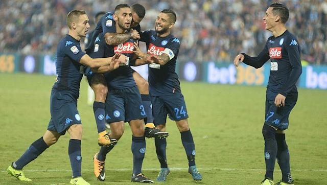 "<p>Say it quietly, but Napoli might just be the most in-form (and exciting) team in Europe at this moment.</p> <br><p>Maurizio Sarri's side have started exactly where they left off last season, winning six on the bounce in 2017/18, and lead Juventus at the summit of Serie A thanks to their 22 goals scored already.</p> <br><p>The Partenopei haven't lost a league game since a home defeat to Atalanta in February and have won all but two Serie A fixtures since.</p> <br><p>While it was a closer contest than many would've liked, Napoli saw off newly-promoted SPAL at the weekend in a 2-3 victory, thanks to spectacular efforts from Lorenzo Insigne, Jose Callejon and left-back Faouzi Ghoulam - whose marauding winner was likened to none other than Diego Maradona.</p> <br><p>And to think Sarri could've been managing West Ham instead.</p> <br><p>The only negative for Napoli was seeing substitute striker <a href=""http://www.90min.com/posts/5583392-napoli-striker-confirmed-to-have-suffered-another-acl-injury-in-huge-blow-for-the-club"" rel=""nofollow noopener"" target=""_blank"" data-ylk=""slk:Arek Milik limp off with another ACL injury"" class=""link rapid-noclick-resp"">Arek Milik limp off with another ACL injury</a> just 20 minutes after coming on. </p>"