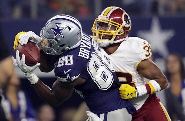 Washington apparently doesn't want Dez Bryant. (Getty)