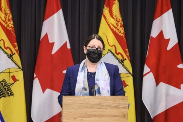 New Brunswick's Chief Medical Officer of Health, Dr. Jennifer Russell.