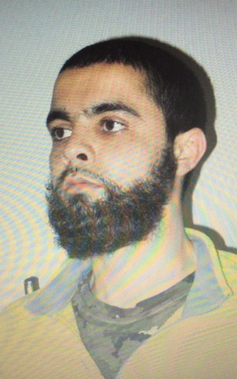 Radouane Lakdim, who authorities have named as the 26-year-old attacker responsible for the death of at least three people in southwest France - Credit: AFP