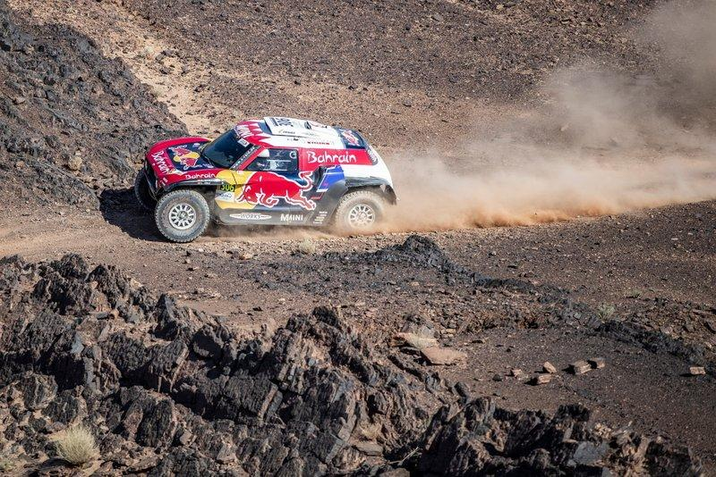 "#306 X-Raid Team Mini JCW Team: Carlos Sainz, Lucas Cruz<span class=""copyright"">Red Bull Content Pool</span>"