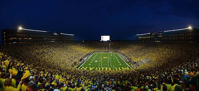 Michigan will host its first-ever Big Ten night game against Penn State on Oct. 11