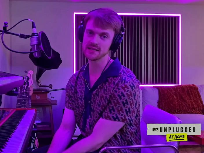 finneas mtv unplugged at home