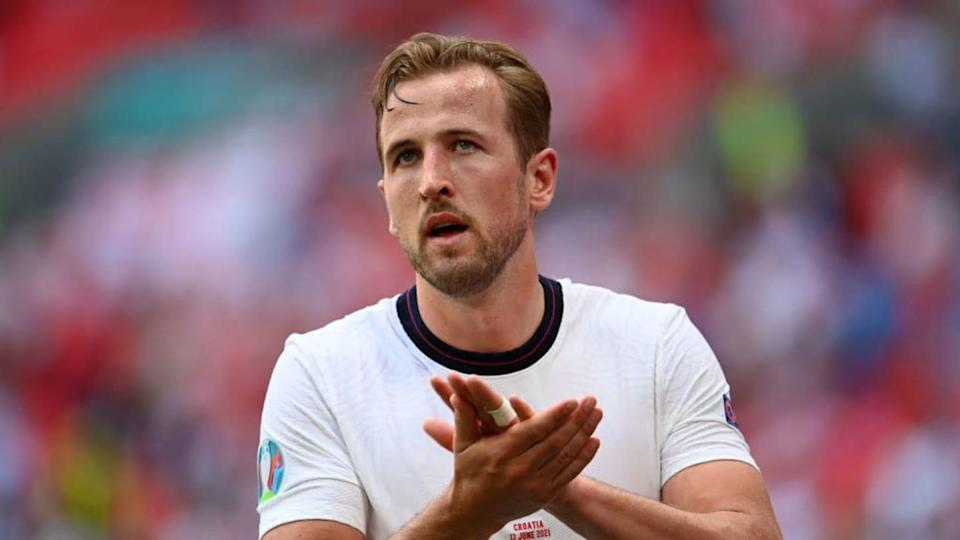 Harry Kane a Wembley con la maglia dell'Inghilterra | Andy Rain - Pool/Getty Images