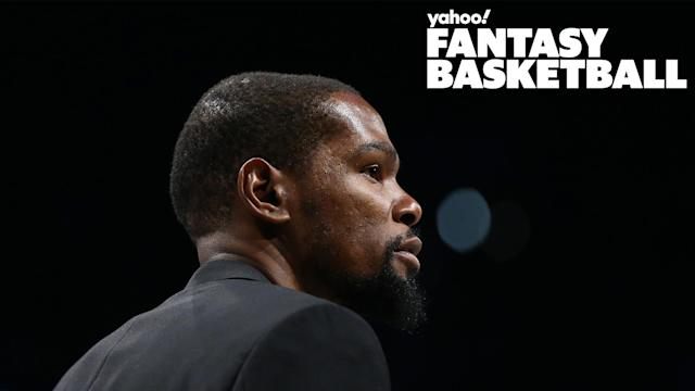 Where will Kevin Durant go in fantasy drafts?