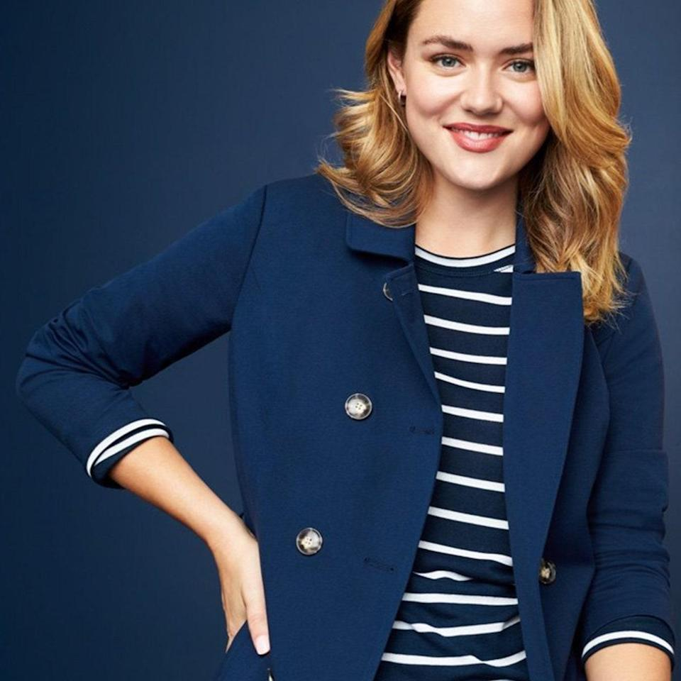 """We love that this clothing box is inclusive and meets the needs of women sizes 0-24. Stitch Fix carries more than 1,000 brands, with plenty of plus size, petite, and maternity styles. Each box comes with curated clothing based on your style profile. Buy what you like, return what you don't—that's it. Plus, the $20 styling fee is credited toward whatever purchases you make. $20, Stitch Fix. <a href=""""https://www.stitchfix.com/gifts#ways_to_gift"""" rel=""""nofollow noopener"""" target=""""_blank"""" data-ylk=""""slk:Get it now!"""" class=""""link rapid-noclick-resp"""">Get it now!</a>"""