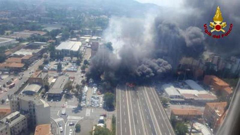 ITALY BOLOGNA ACCIDENT EXPLOSIONS