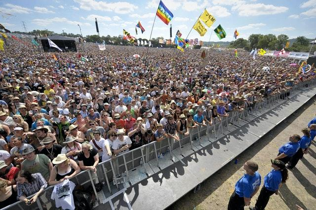 Red Button streaming of Glastonbury will not be affected