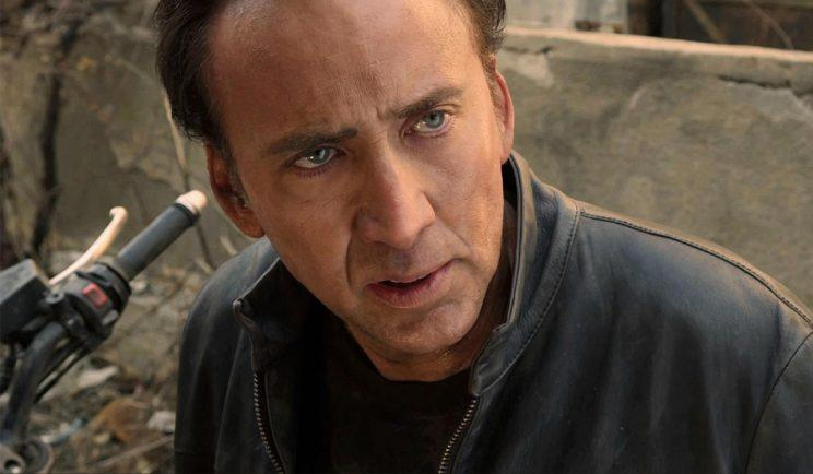 Nicolas Cage has been injured on set - Credit: Warner Bros.