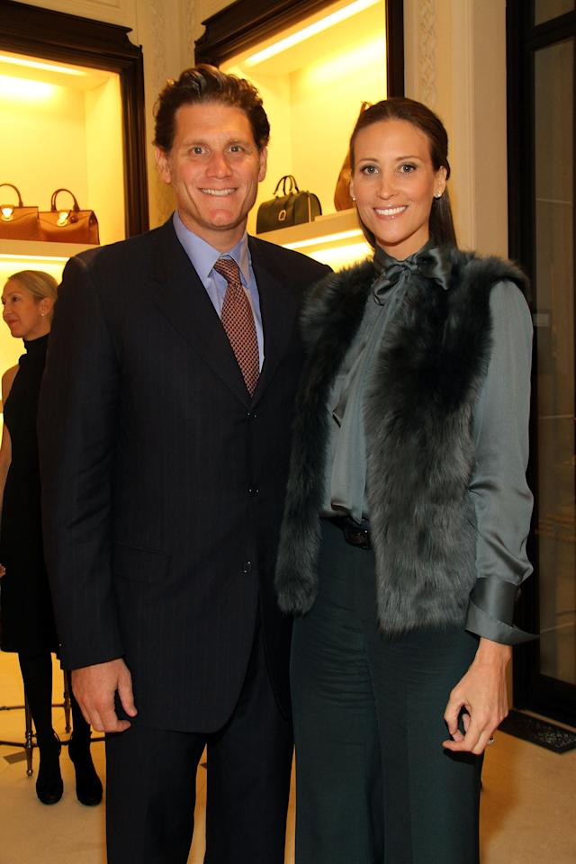 The Wolkoffs at a 2013 fashion event. (Photo: Mireya Acierto/Getty Images for Ralph Lauren)