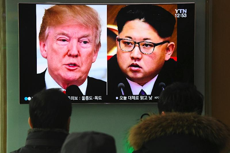 Trump has agreed to meet Kim for a historic US-North Korean summit as soon as next month, but Pyongyang has never officially confirmed its offer of denuclearisation talks to the White House
